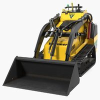 3D vermeer s450tx mini skid steer