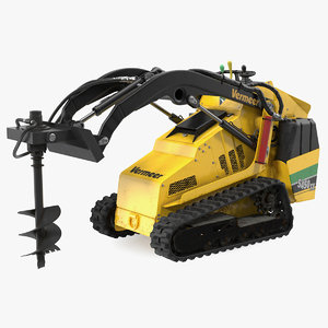 3D vermeer s450tx skid steer model