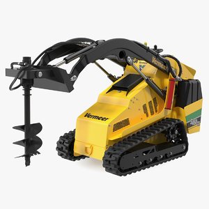 3D vermeer s450tx auger drill