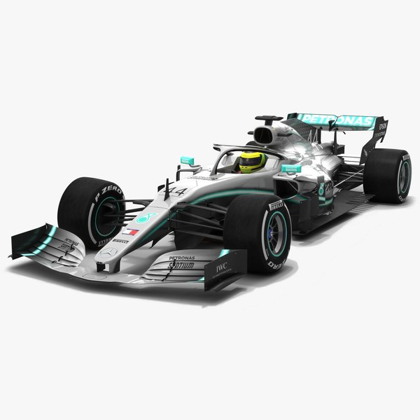 petronas f1 w10 eq 3D model