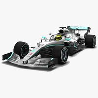 Mercedes F1 W10 EQ Power+ Formula 1 Season 2019
