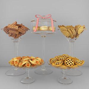 3D cookies 2 model