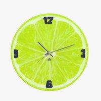 3D realistic clock 06