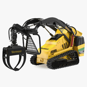 vermeer mini skid steer 3D model