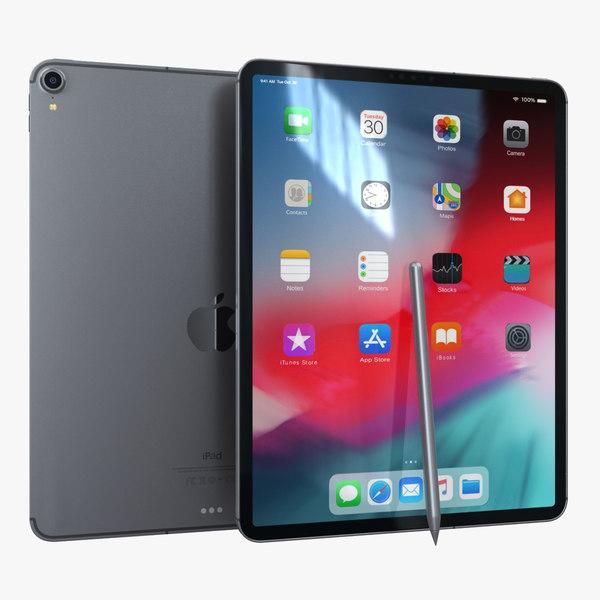 3D apple ipad pro 12