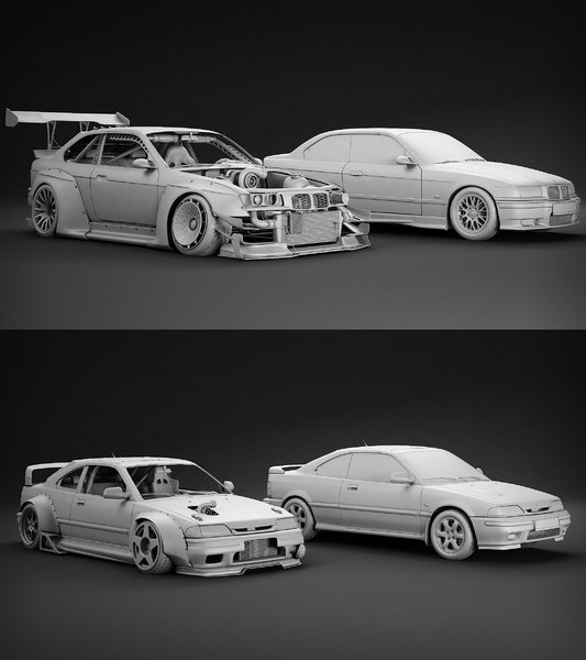 tune car kit! 3D model