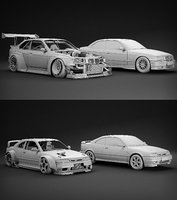 tune car kit! 3D model