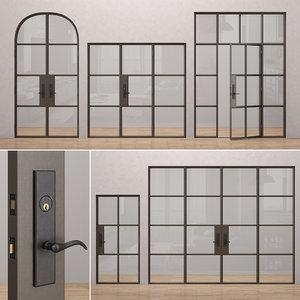 rehme steel doors 2 3D