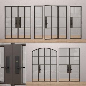 3D model rehme steel doors 3