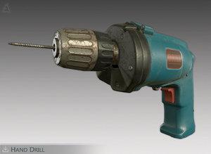 drill pbr 3D model