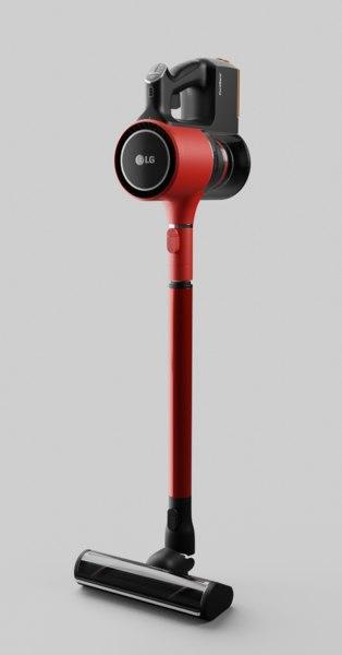 3D vacuum cleaner lg a9ddcarpet2