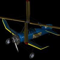 Pitcairn PCA 2 Autogyro