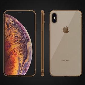 3D iphone xs