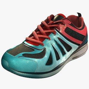 running sneakers 3D