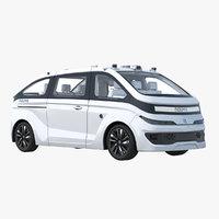 3D cab white