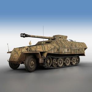 3D sd kfz 251 ausf