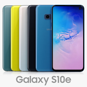 samsung galaxy s10e color 3D model