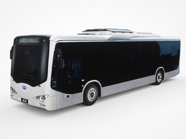 byd k9 electric city bus 3D