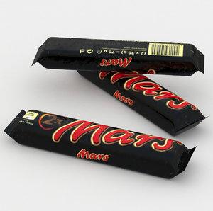 bar chocolate 3D model