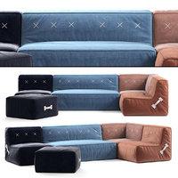 Koskela Quadrant Soft Sofa
