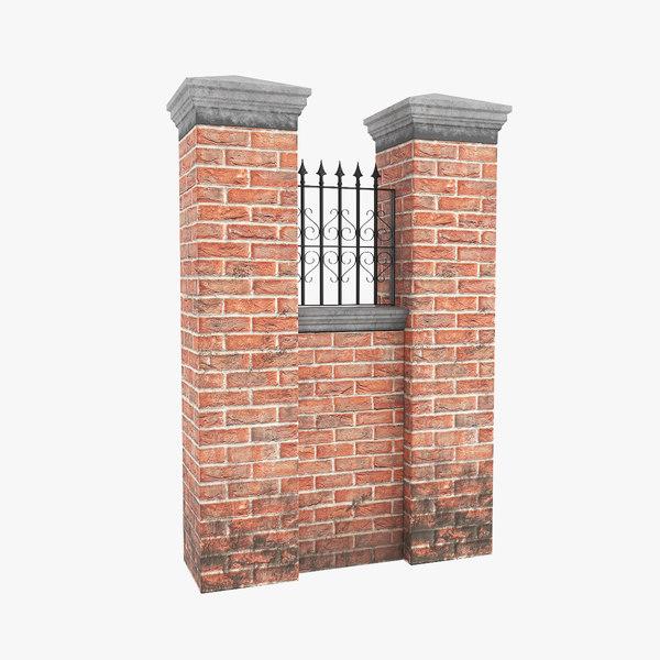 3D garden wall v1