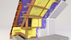 thermal insulation profiles 3D model