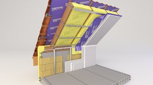 thermal insulation 3D model
