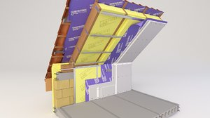 thermal insulation model