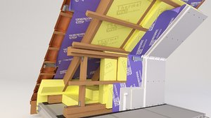 3D thermal insulation