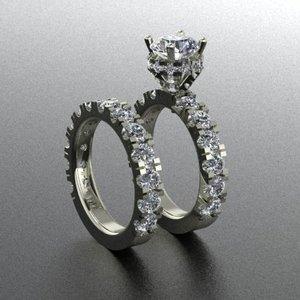 halo ring big diamond model