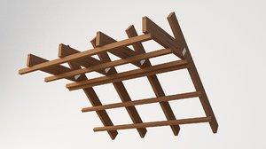 beams 3D model