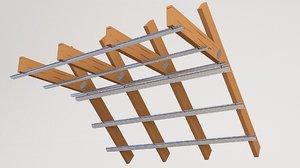 3D attic beam