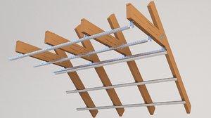 attic beam model