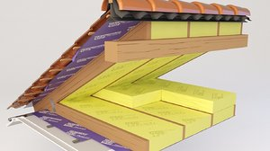 3D thermal insulation model