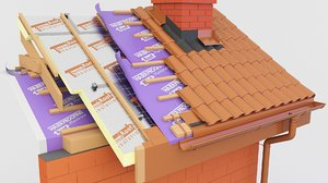 thermal insulation pir roof model