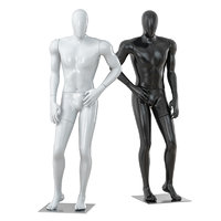 3D faceless male mannequin