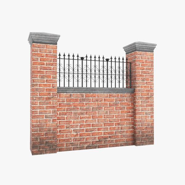 garden wall v3 3D model