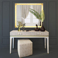 3D model dressing table console aleal