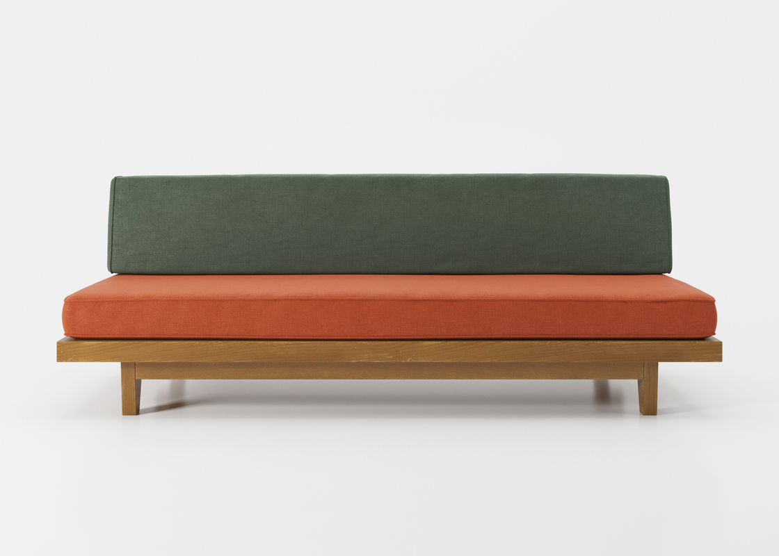 clara porset loveseat model