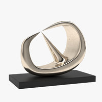 sculpture henry moore 3D model