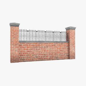 3D garden wall v5