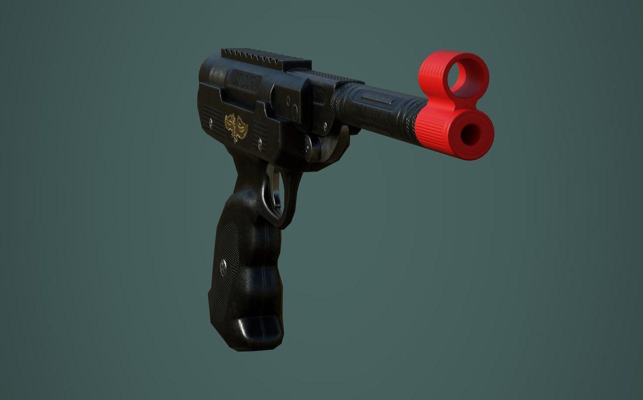 pneumatic super condor toy 3D model
