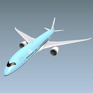 jetliner 787 boeing 3D model