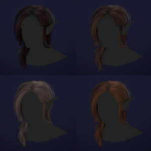 realtime hair model