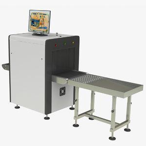 x-ray conveyor 3D