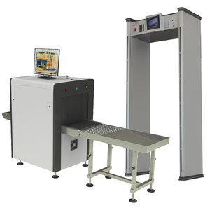 x-ray metal dedector door 3D model