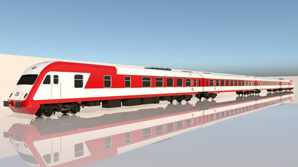 aeg intercity ose 3D model