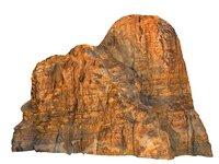 wadi rum mountains mars model