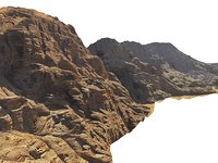 Wadi Rum Mars Mountains