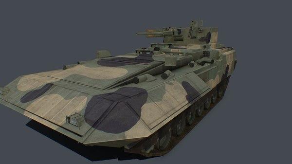 pack t-15 turret 30mm 3D model